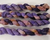 SALE  Quartzite Handpainted Gossamer Merino Yarn
