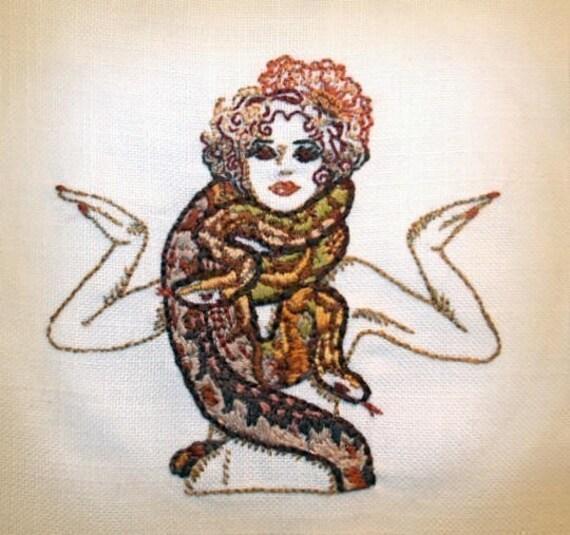 Circus Palooza Iron on Hand Embroidery Pattern (original design)