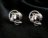 Horse Shaped Cuff Links