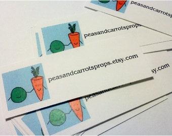 50 Half  Shop Business Cards