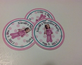 20 American Doll Inspired Hang Tags