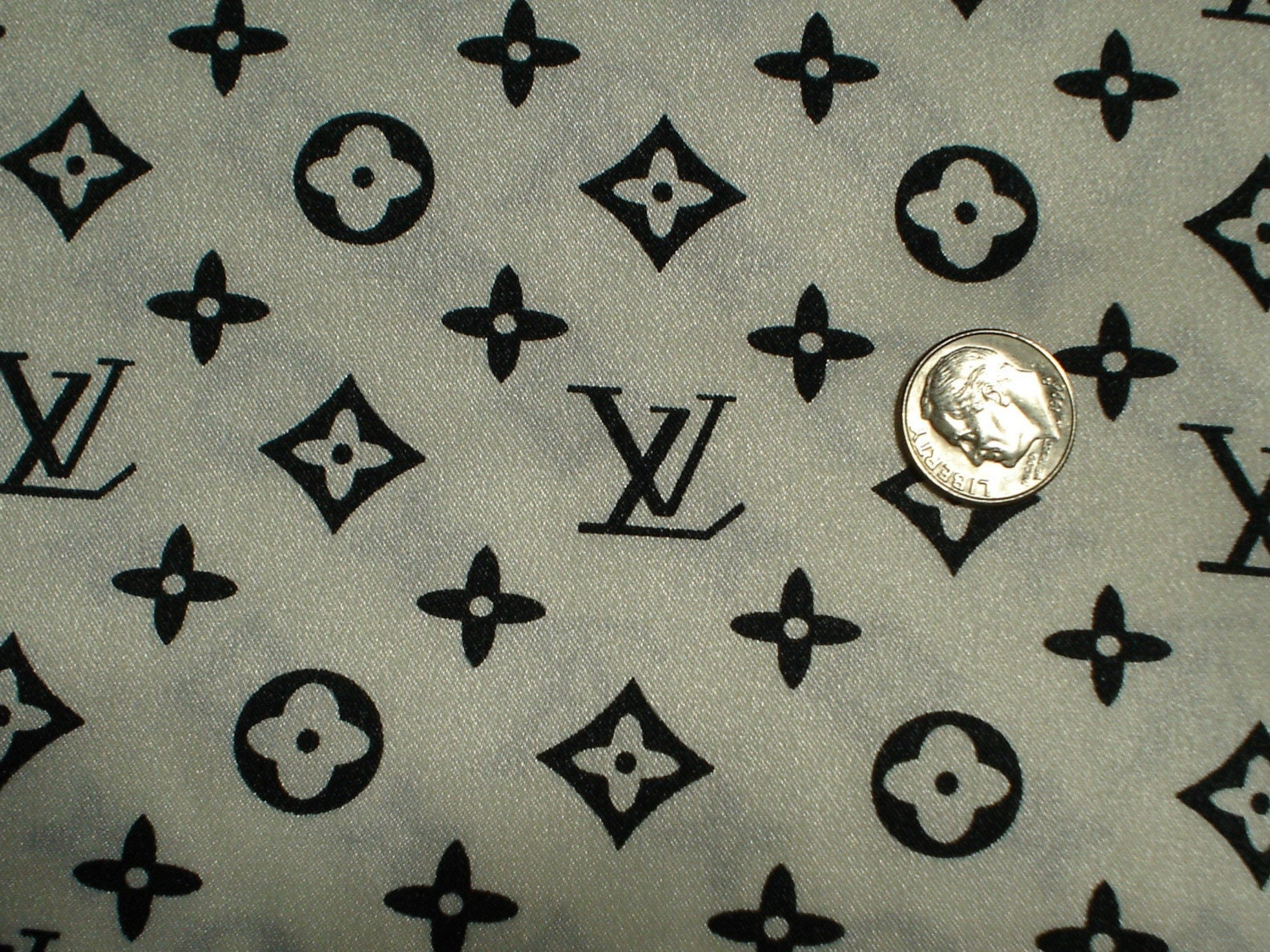 Lv Louis Vuitton Designer Fabric By Designsbydt On Etsy