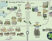 Campus Map - College Campus Map