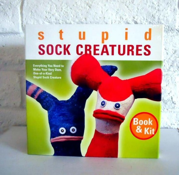 Stupid Sock Creatures Book and Kit