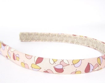 Autumn / Fall Leaves Headband - Narrow Width - Neutral Colors