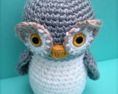 Ollie the Owl Amigurumi Pattern