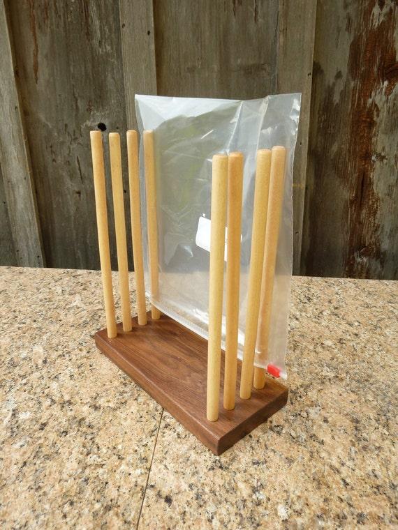Ziplock Bag Drying Rack
