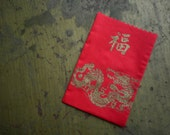 Shanghai Chinese New Year Little Lucky Red Money Envelope Bags