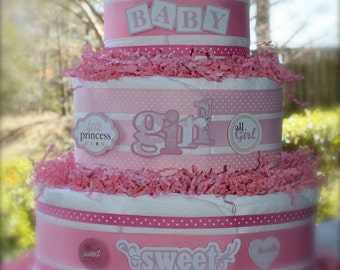 Pretty In Pink Cake