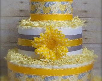 Sunshine and Flowers Cake