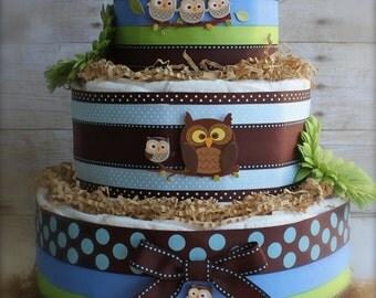 The Little Hoot Cake