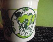 Vintage Staffordshire Mod Mug