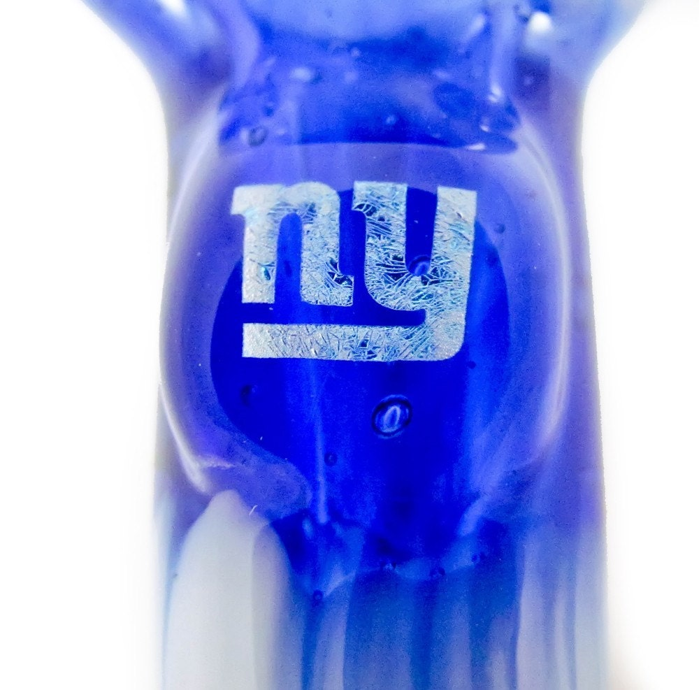 New York Giants Logo In Glove Figurine