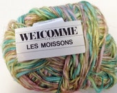 Destash Yarn Welcomme Les Moissons Linen Cotton Viscose Blend Pastel Colors