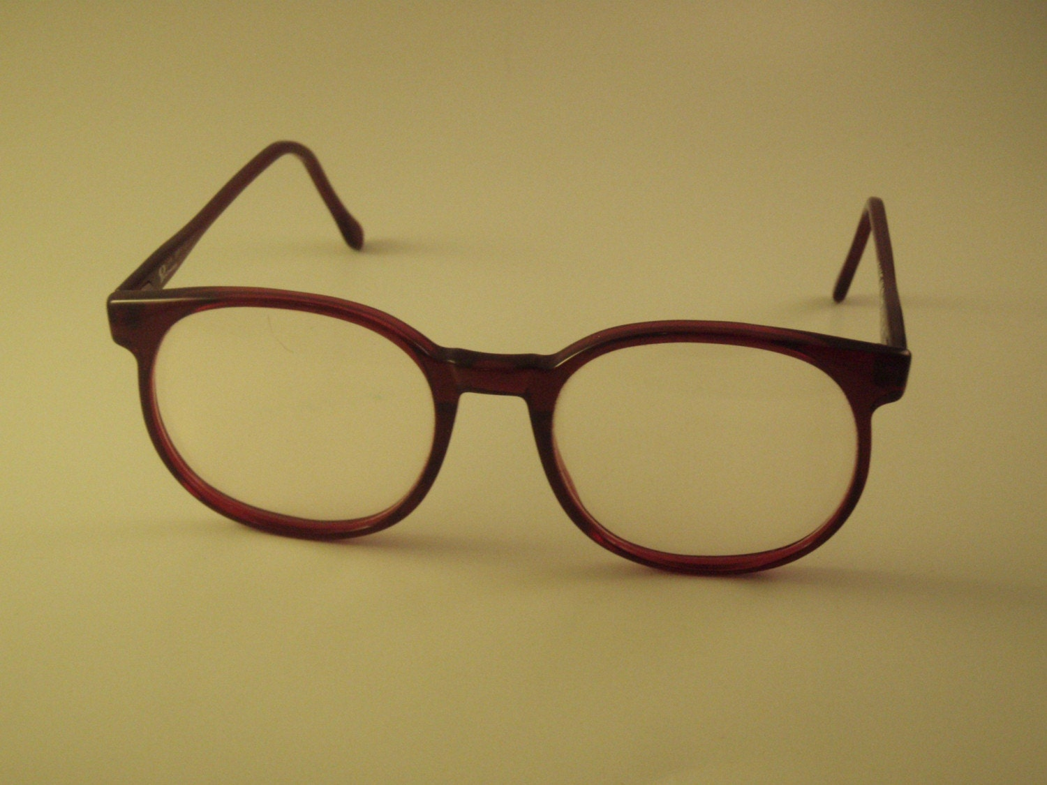 Big Plastic Frame Glasses : BIG 80s Eyeglasses plastic frames