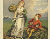 1869,  Jack and the Beanstalk 3, Giant Killer, Jack and the Fairy, Victorian Cautionary Tale, Victorian England,