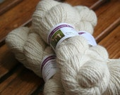 Alpaca sport weight yarn, beige, 300 yards