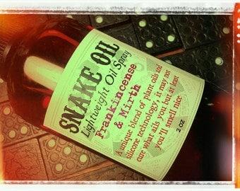 SNAKE OIL- 2 oz Lightweight Oil Spray for Body & Hair- Private Stock scent list options