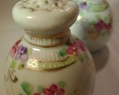 Reserved for Marie  Vintage Floral Salt and Pepper Shakers