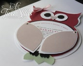 DIY Owl Invitations Modern