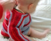 Knitted child jumper - MUSTIKKA JA MANSIKKA Jumpperi