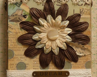 SPECIAL SALE PRICE Dream Vintage Collage Canvas