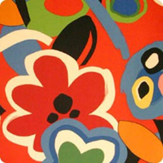 Joy of Life from Matisse by Alexander Henry Fabrics- SPRING CLEANING SPECIAL Last Half Yard