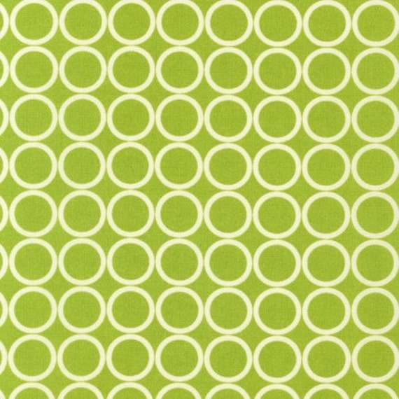 Metro Living Circles in Chartreuse - Half Yard