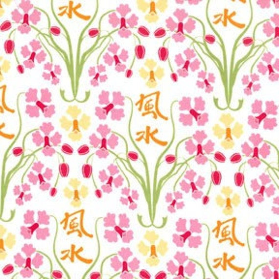 Sanctuary by Patty Young Orchid Feng Shui - Fat Quarter
