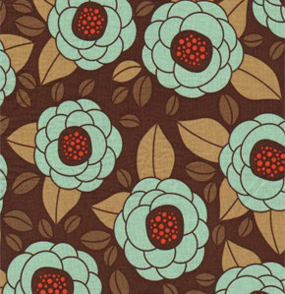 Bloom in Bark from Aviary 2 by Joel Dewberry for Free Spirit Fabrics - Fat Quarter