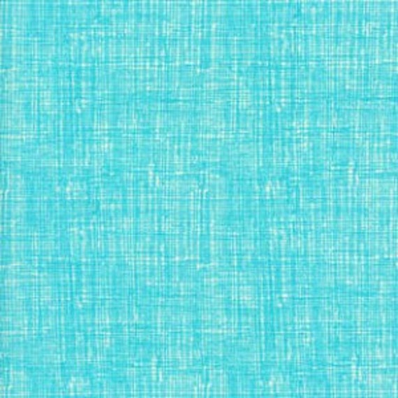 Turquoise Texture Organic Cotton from Timeless Treasures Fruit Punch - Fat Quarter