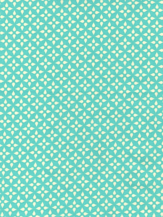 Foulard in Aqua from Washi by Rashida Coleman Hale - Half Yard