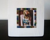 Colorful Mosaic Tile Picture Frame 3.5 x 3.5 - Free Shipping