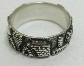old jerusalem panorama view men women ring