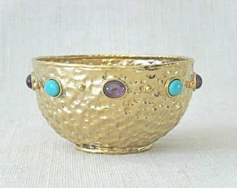 Anna Morelli Vintage Small Gold Bowl