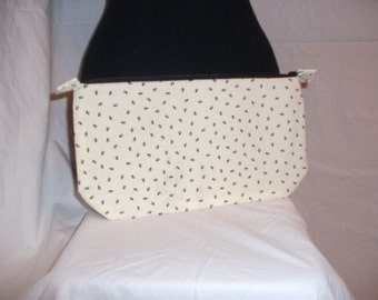 Clutch/Purse/Cosmetic Bag made from Recycled Fabric