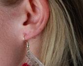 Mini Weaving Loom Earrings
