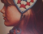 Granny Squares. Quilts. Crochet.  Magazine Chock Full of Ideas. 1973.