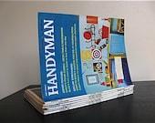 1960s The Family Handyman Magazine. Set of 6.