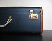 RESERVED for alittlebitsarah.  Large Vintage Suitcase Perfect For Display and Storage.
