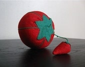 Vintage Tomato Pin Cushion.