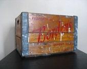Borden's Wooden Milk Crate.