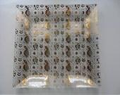 Georges Briard Square Platter or Dish.  Mid Century Design.