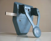 Industrial Chic. Pale Blue ACCO 10 Hole Punch.