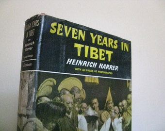FIRST EDITION Seven Years in Tibet by Harrer.