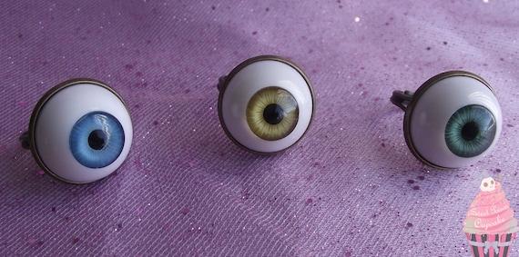 The Third Eye -  Eye Ball Ring (Blue)