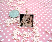 Hedwig Glass Scrabble Tile Pendant