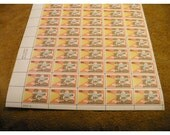 1977 Talking Pictures - 50th Anniversary - 13 Cent - Sheet of 50 Unused Stamps - Vintage US Postage
