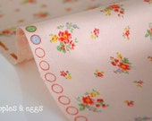 Flower Bouquets on Dusky Pink (Half Yard)