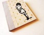 handmade notebook sketch journal diary Dreamy Girl